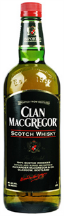 Clan Macgregor Scotch 750ml